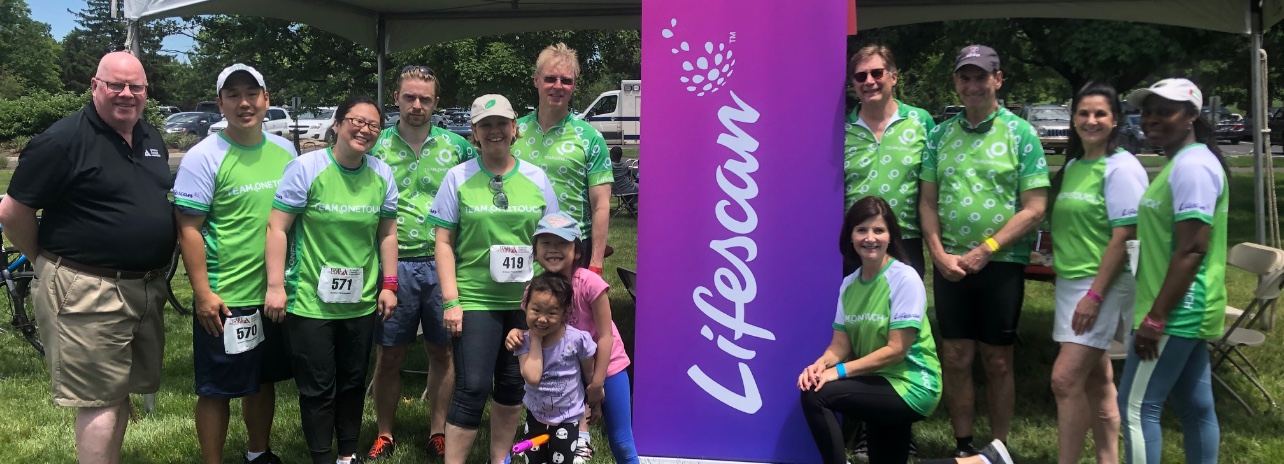 LifeScan Giving Back to the Community